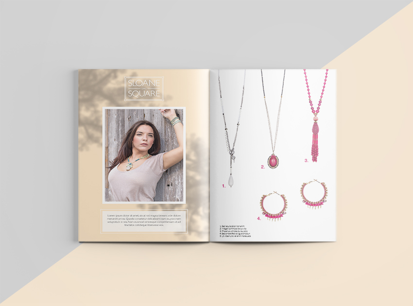 Butterfly jewellery catalogue
