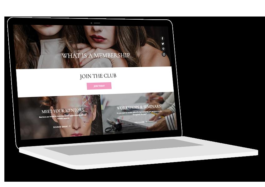 fashion capital side laptop