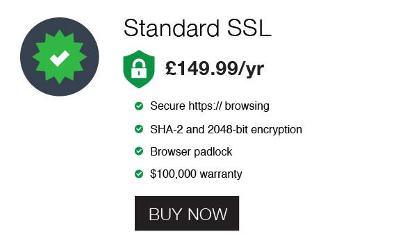 standard ssl