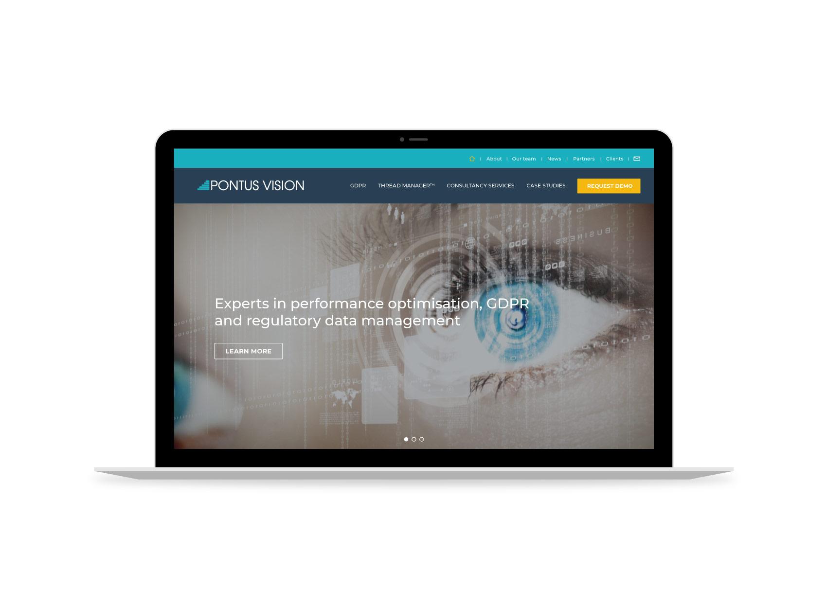pontus vision website