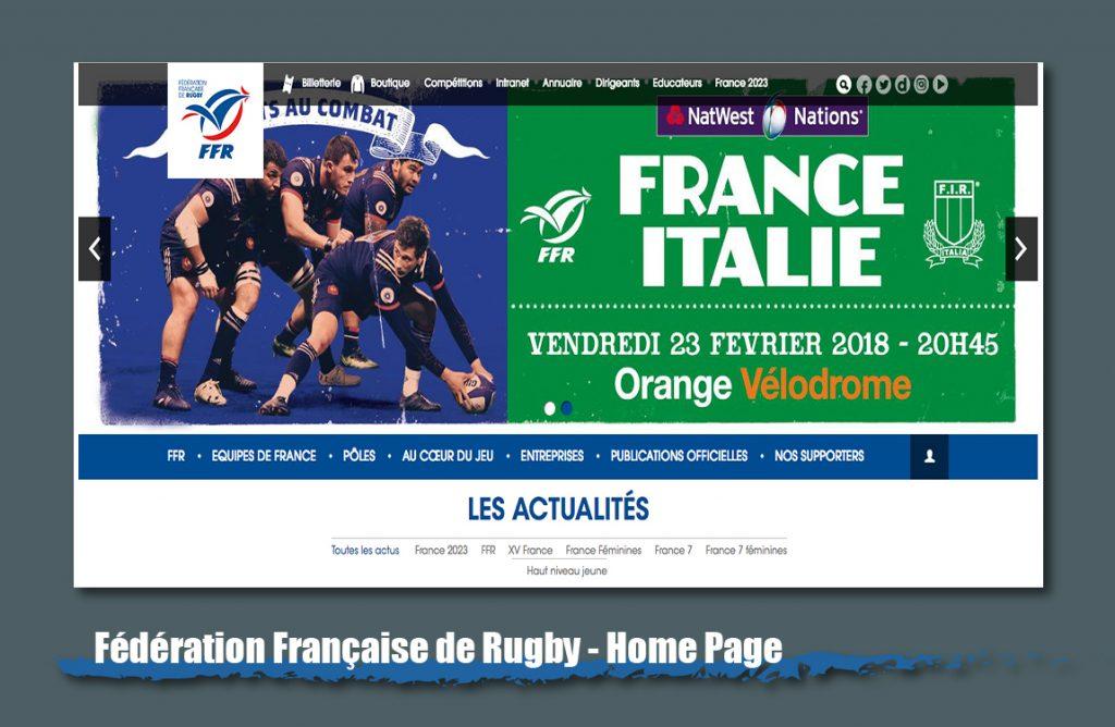 france rfu website