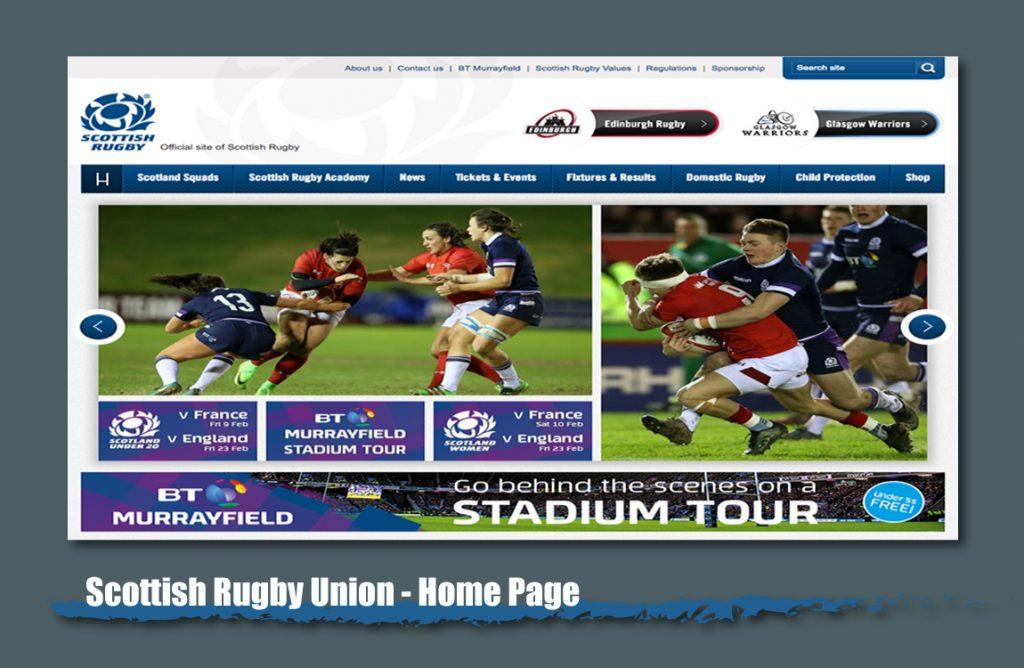 scottish rugby union website