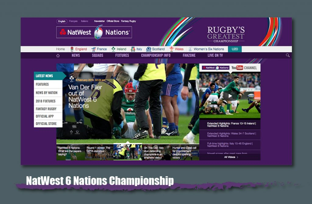 natwest 6 nations website