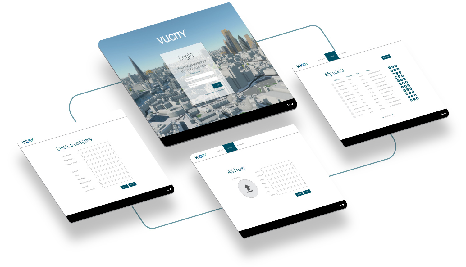 vucity wireframe