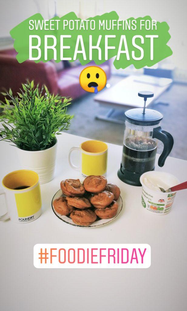 foodie friday sweet potato muffins
