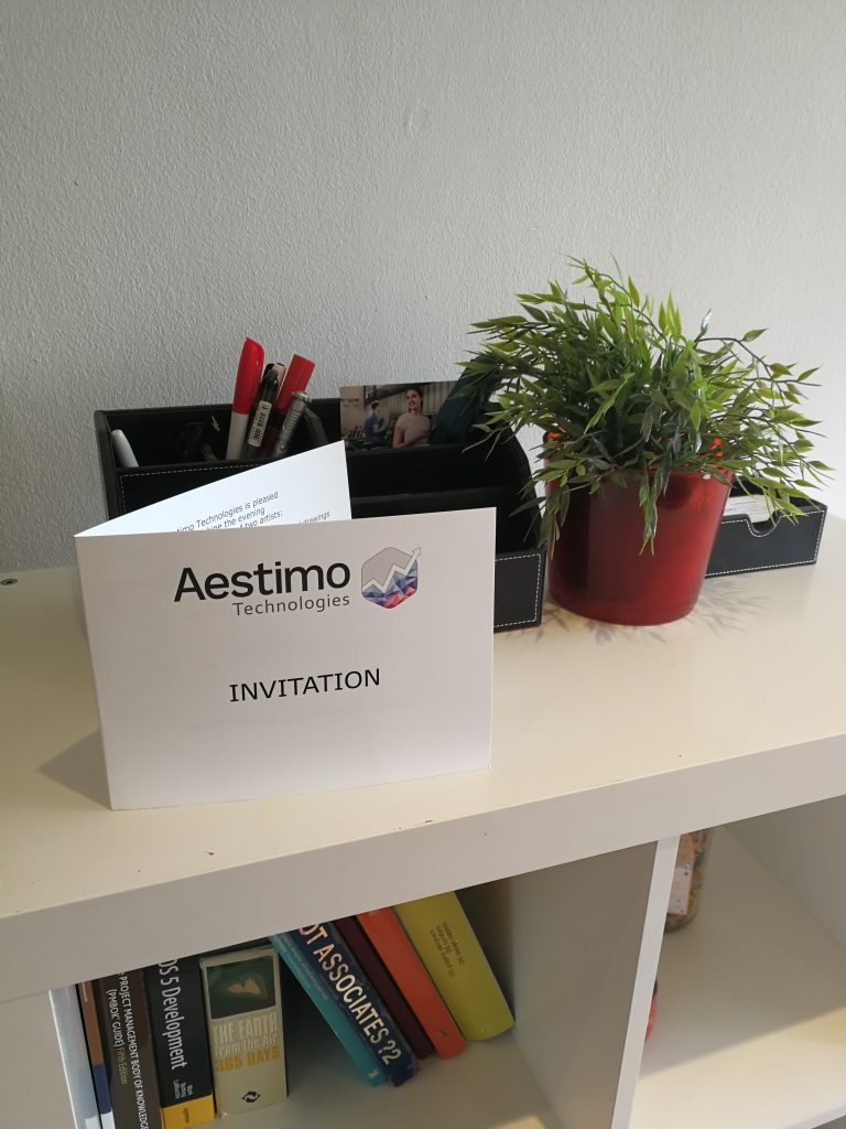 aestimo tech invitation