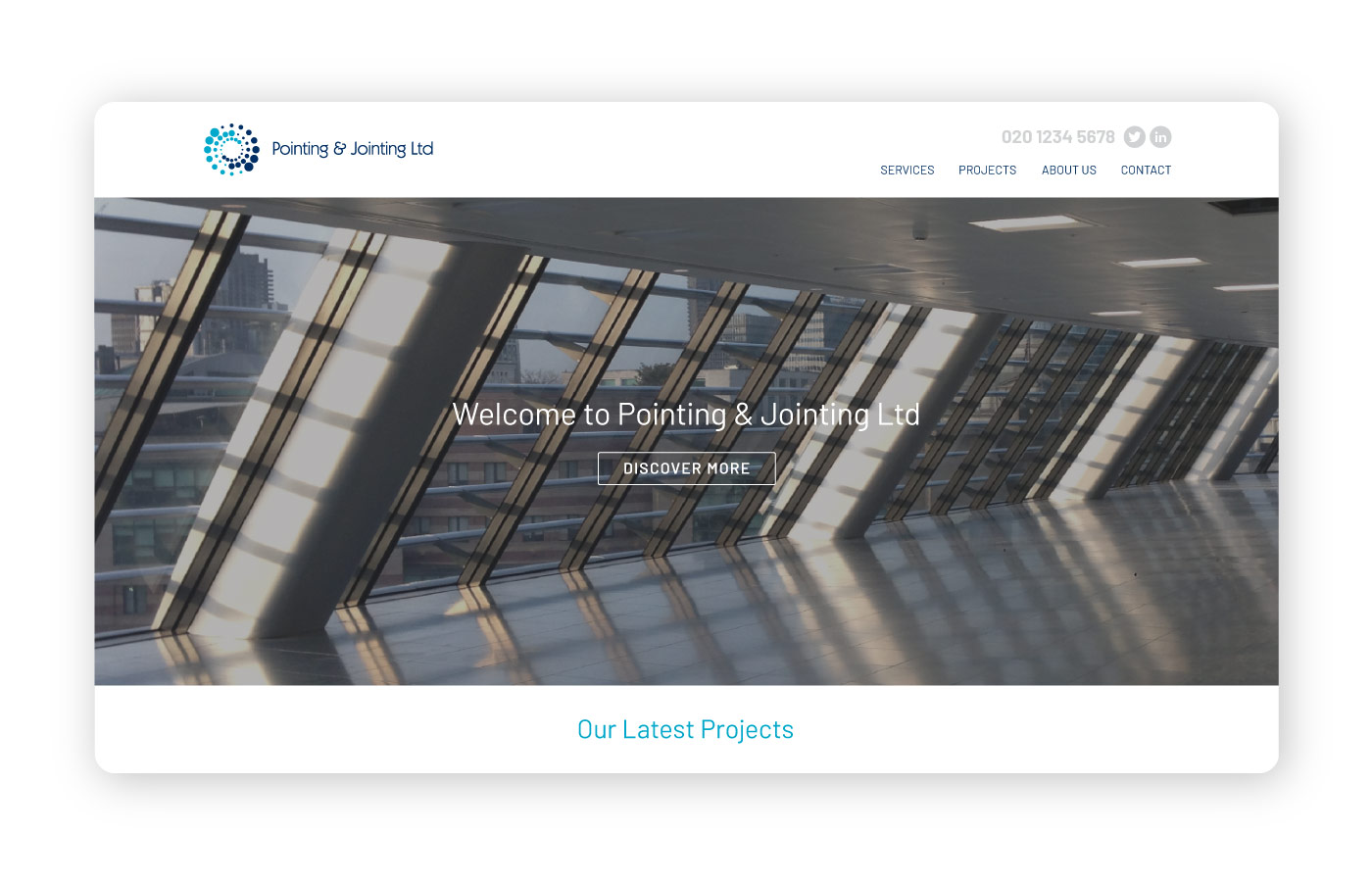 pointing&jointing home page