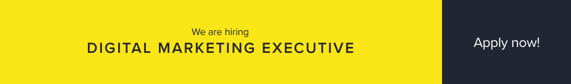 Digital Marketing Executive: We are hiring